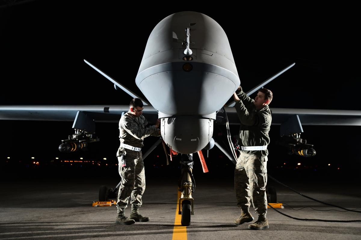 美國空軍MQ-9型無人機(USAF)