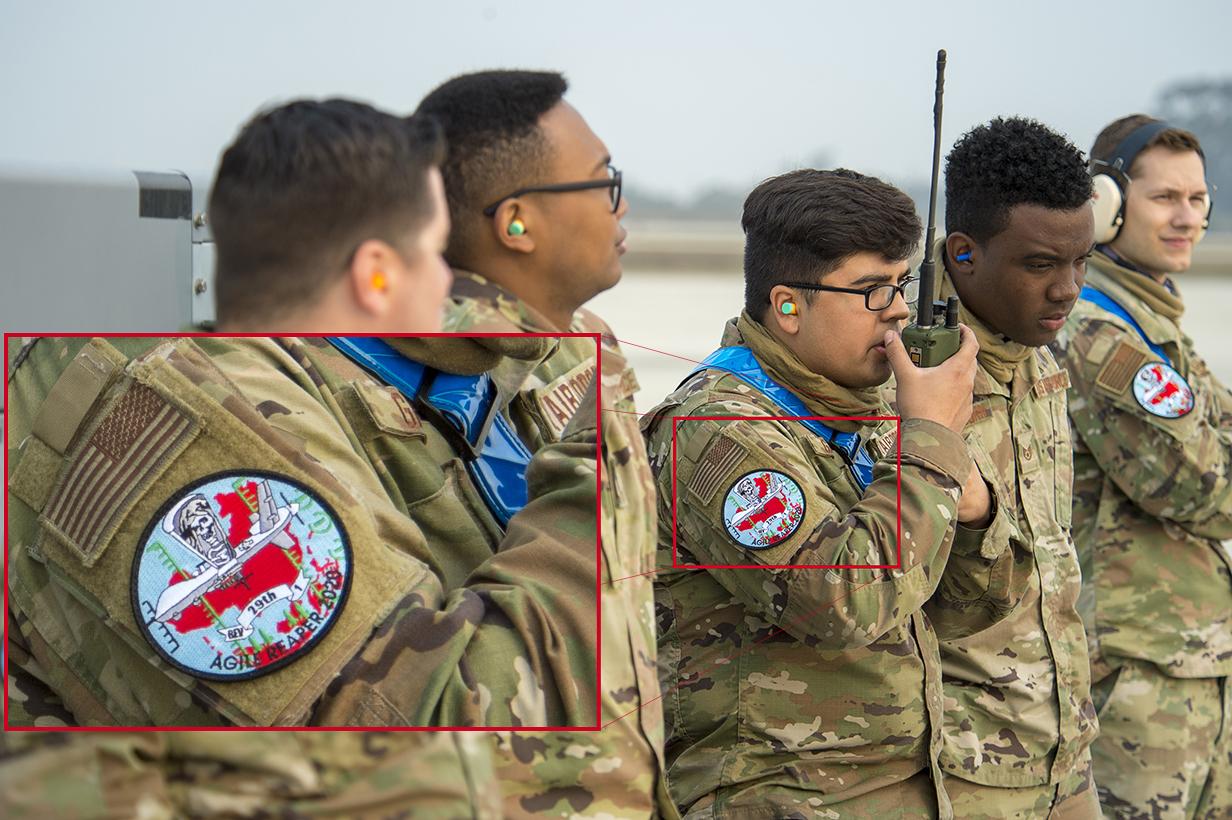 美國空軍第29無人機攻擊中隊的臂章(USAF)