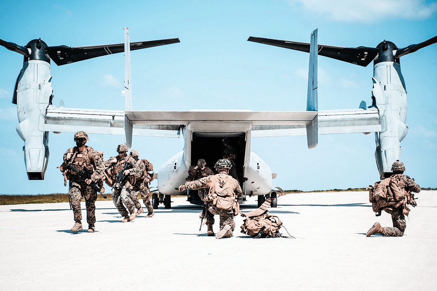 美軍無預警登陸演習再威懾中共