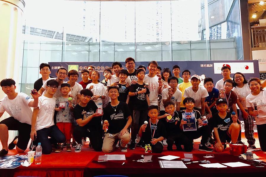 第二屆全港花式劍球大賽合照。(受訪者提供)