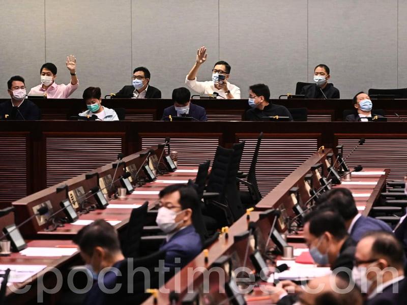 【直播】立會多個事務委員會選出主席 民主派相互提名 喊口號撐民主