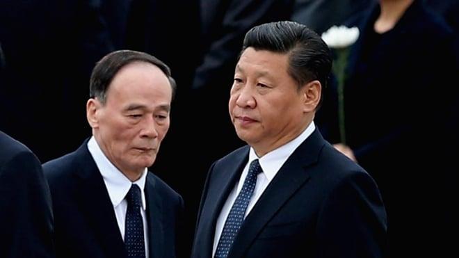 有專家稱,習近平打倒王岐山將是習時代的林彪事件,也是當下中共權鬥的極致。(Feng Li/Getty Images)
