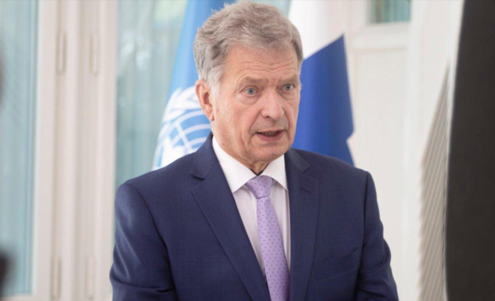 芬蘭10月16日宣佈,因應「港版國安法」,總統尼尼斯托(Sauli Niinisto)已批准暫停與香港的引渡協議。(Sauli Niinisto Twitter)