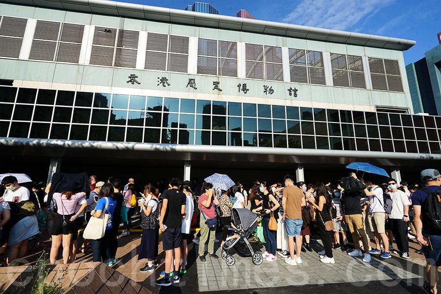 「香港故事」即將關閉翻新 市民蜂擁而至拍攝 憂歷史被刪減