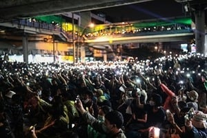 泰抗爭者高喊「還香港獨立」 羅冠聰籲全球援泰