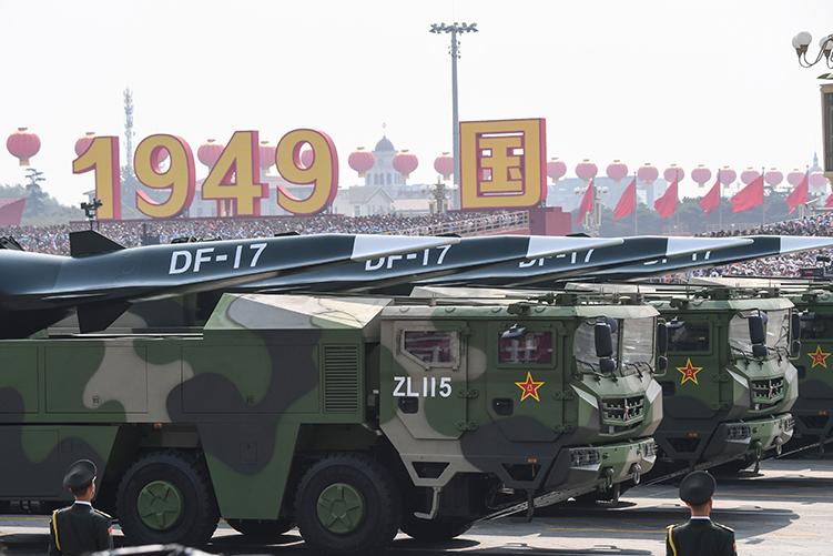 中共軍隊部署東風17  台立委:美日不同意窮兵黷武