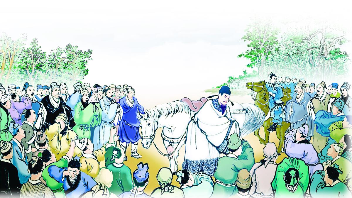 十二道催促班師的金牌,令岳飛北伐的心血付諸東流。(夏瓊芬 大紀元製圖)