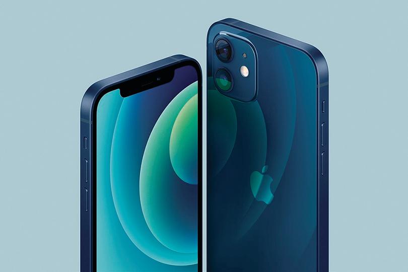 高端旗艦的iPhone 12 Pro系列,首度推出了「太平洋藍」新色。(蘋果官網截圖)