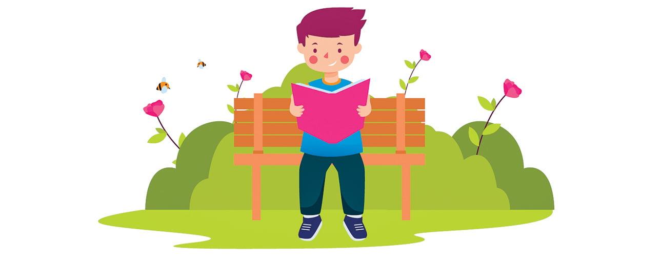 作文選登 : 享受閱讀的樂趣