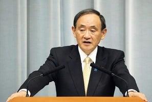 菅義偉訪問越南 暗批中共將南海軍事化