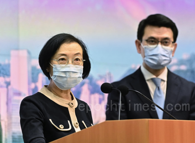 陳肇始:新防疫措施周五起生效 料病毒會與社會共存
