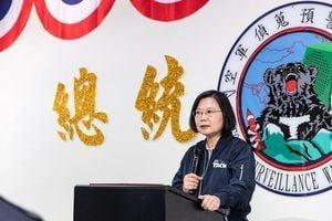 台空軍「偵搜預警中心」隊徽曝光 象徵遏制中共