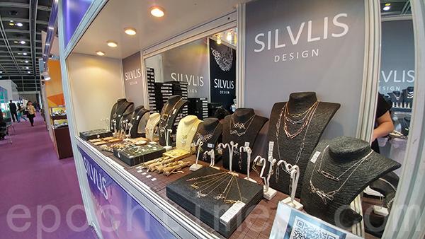 2019年Silvlis Design參與香港珠寶展。(受訪者提供)