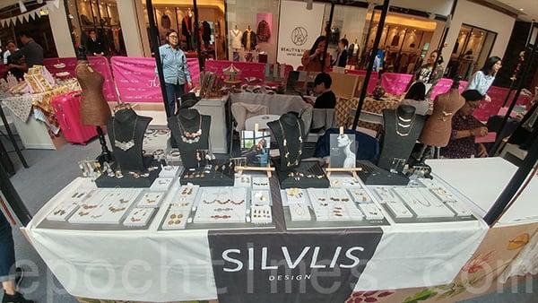 2018年Silvlis Design在尖沙咀The One的期間限定店。(受訪者提供)