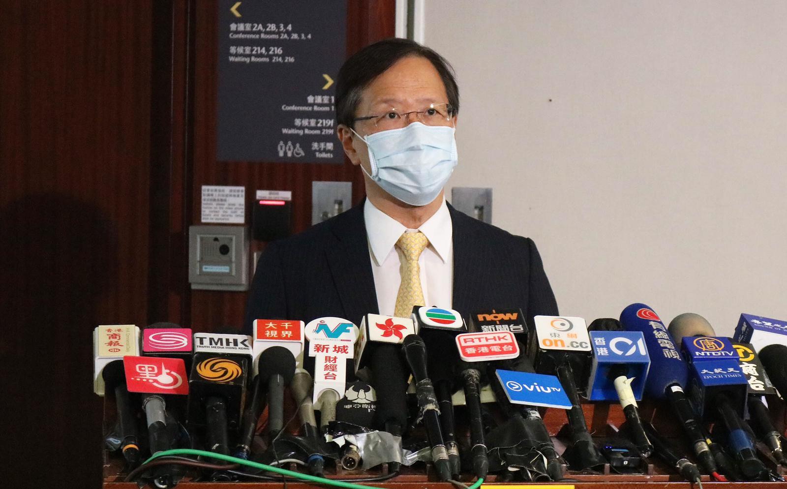 公民黨立法會議員郭家麒。(公民黨提供)