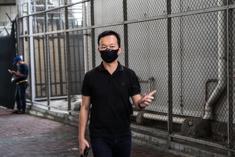 譚得志申請終止聆訊   因「文字獄」有違《基本法》