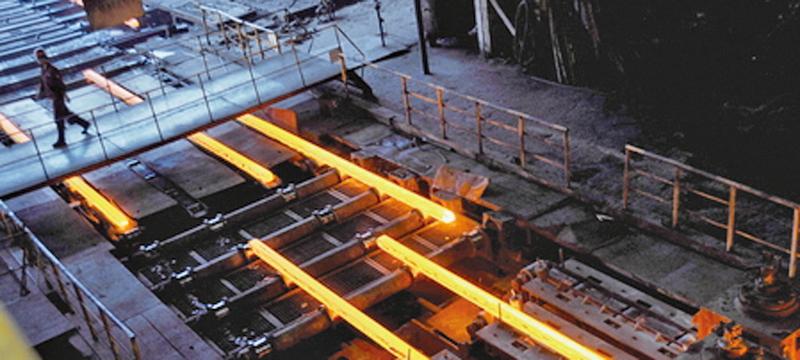 大陸大部份鋼企陷入巨虧的困境。(AFP)