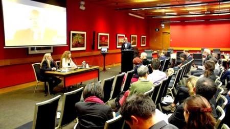 2015年10月28日,在位於澳洲悉尼的新南威爾斯州議會大廈專題放映《難以置信》。(《難以置信》網站)