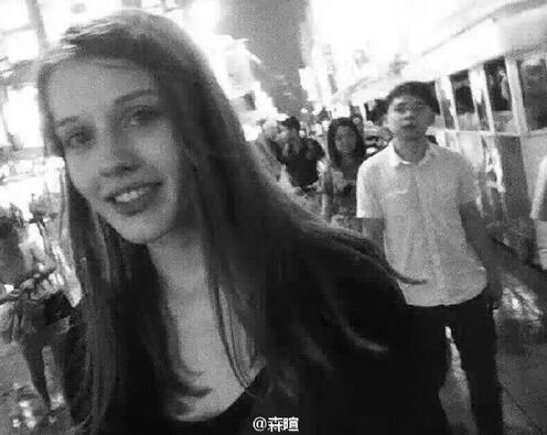 烏克蘭一名在上海工作的21歲女模特兒達利亞Daria,自上周六(8月6日)早上最後一次在上海東方明珠電視塔附近出現後,至今已失蹤7日。(網絡圖片)