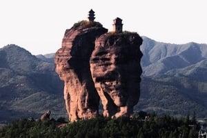 天下奇景!在懸崖在雲端 中國古代建築之傳奇