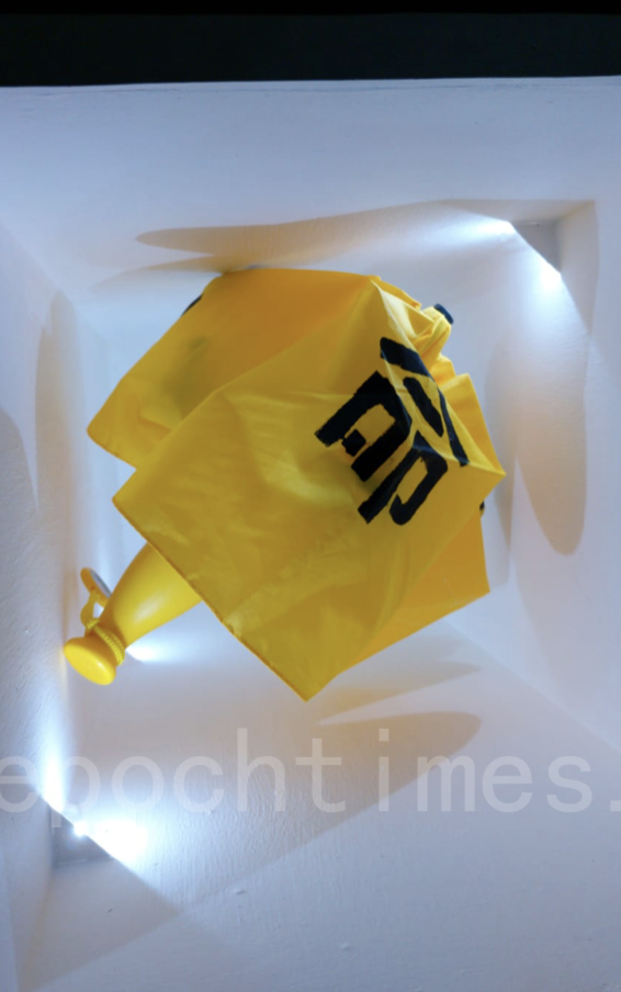 黃色雨傘(Betty/大紀元)