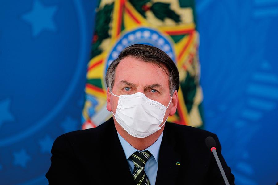 巴西總統拒絕購買中國疫苗