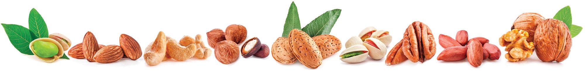 每天適量吃堅果,有助降低癌症發生率。(shutterstock)