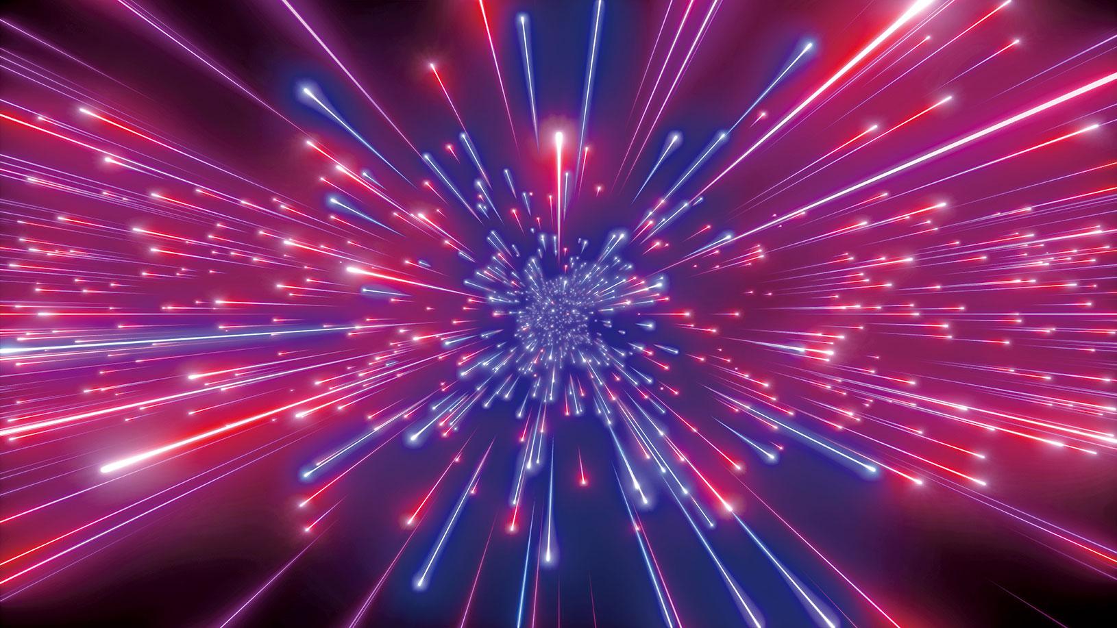 光子是光的基本粒子,它是量子信息的最佳載體。此為光子示意圖。(Shutter Stock)