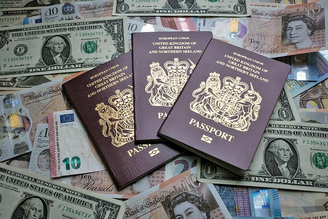 英國BNO護照(大紀元資料室)