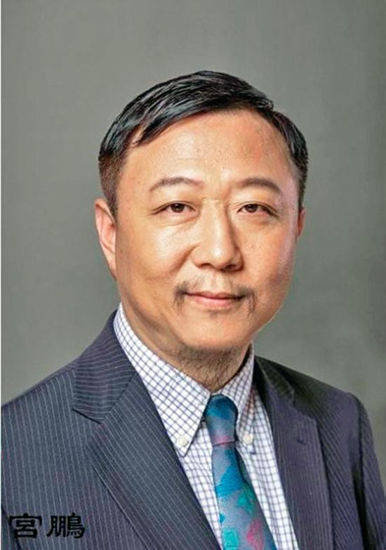 宮鵬與香港大學現任校長張翔是大學校友。(網絡截圖)
