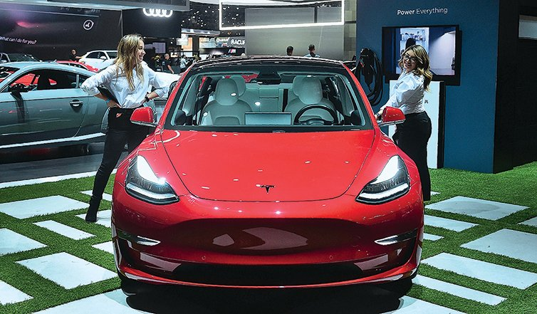 特斯拉的Model 3是最暢銷的電動車。(FREDERIC J. BROWN/AFP via Getty Images)