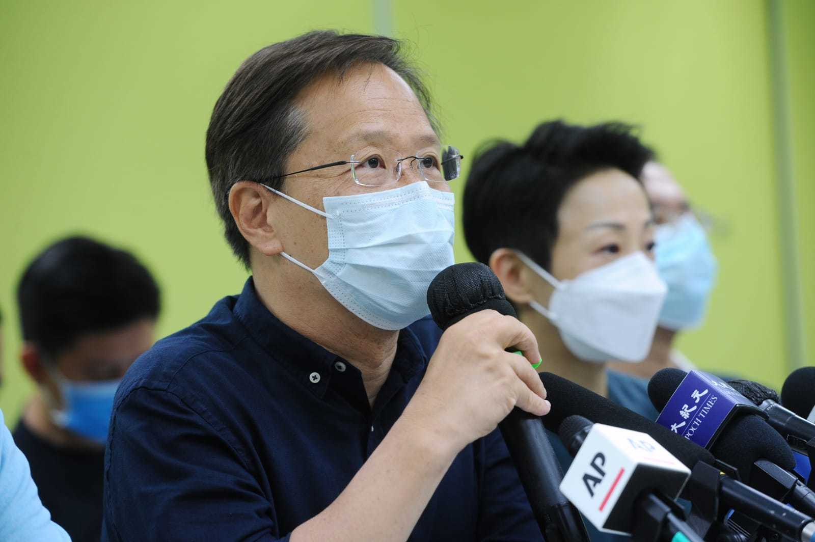 公民黨立法會議員郭家麒。(大紀元資料室)