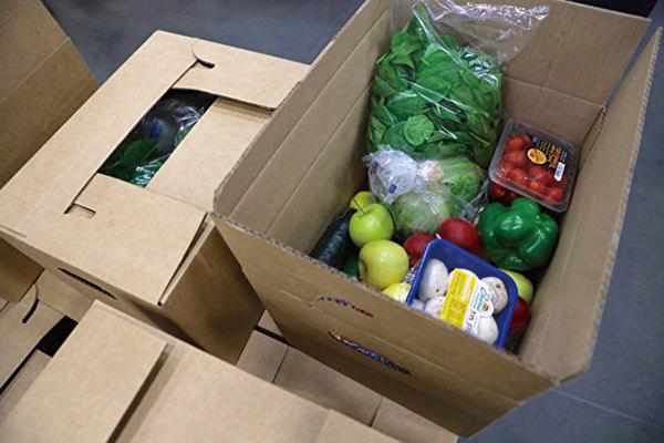 美農業部再投五億 估數百萬食品盒待送出