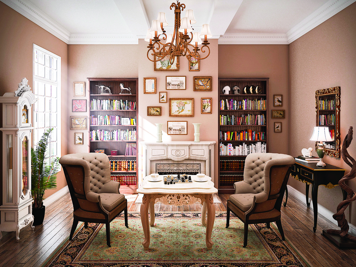 可以在古典的基礎上採用現代外觀,打造一個舒適而溫馨的家。