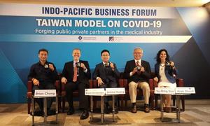 酈英傑:台灣是美國 及理念相近國重要夥伴