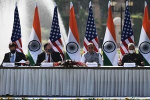 美國站邊 與印度軍事協議牽制中共對台威脅