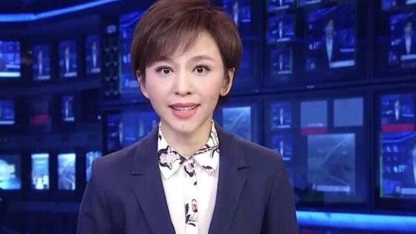 「產經新聞」28日引述多名中共消息人士透露,央視女主播歐陽夏丹正在接受當局的調查。(影片截圖)
