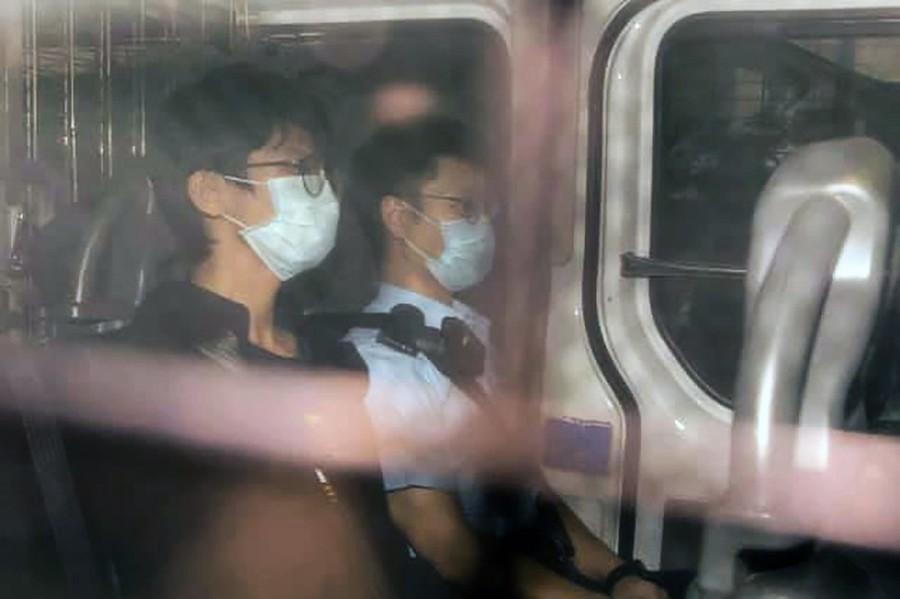 鍾翰林被控分裂國家等四罪 官拒保釋還押明年再訊