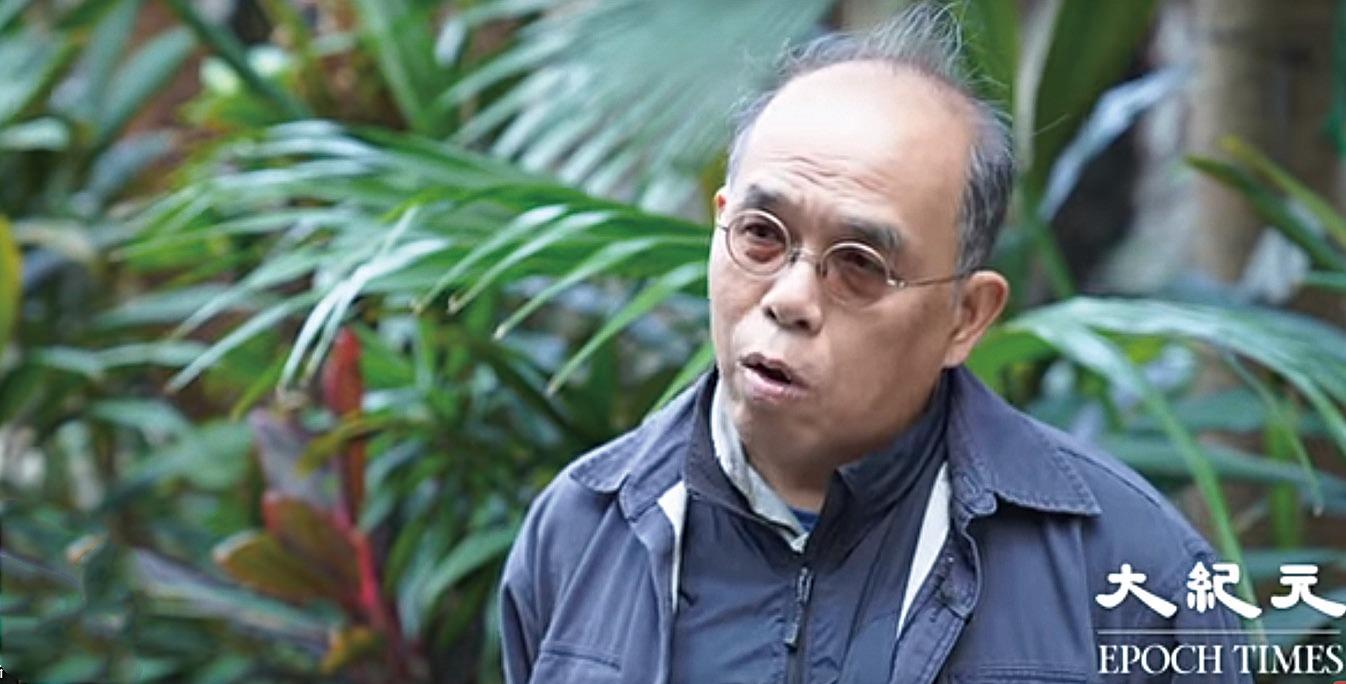 鍾劍華批評曾國衛為否定而否定,並直言「曾國衛無條件做局長」。(大紀元影片截圖)