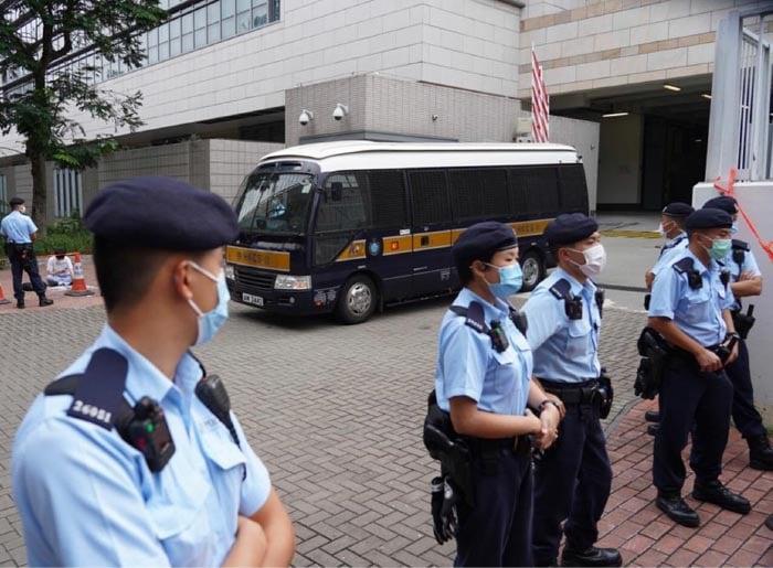 鍾翰林被控分裂國家等四罪
