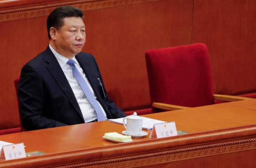 中共19屆五中全會10月29日結束,會議公報沒有透露任何中共下屆接班人的信息。圖為中共總書記習近平資料照。(Photo by Lintao Zhang/Getty Images)