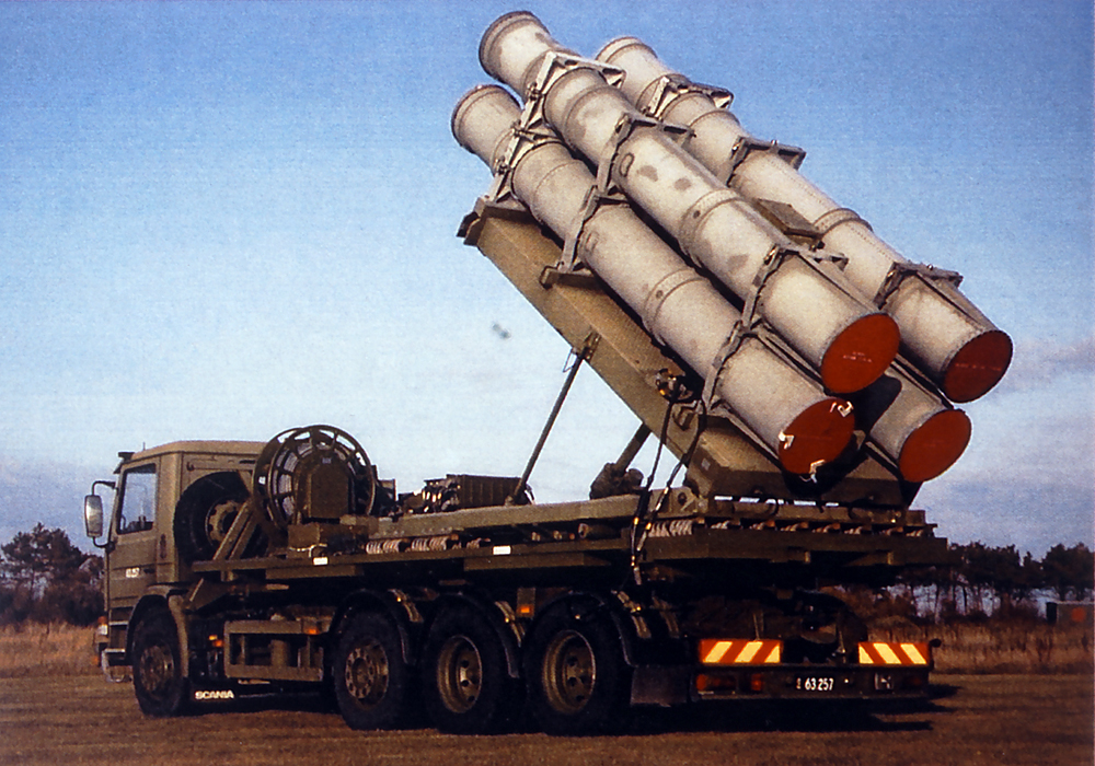 美國10月27日宣佈同意對台軍售100套岸置型魚叉導彈系統(HCDS)。這是美方在七天內第2度宣佈對台軍售。(Royal Danish Navy's/維基百科)