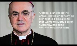 維加諾大主教再致信特朗普:「大重啟」陰謀欲「征服人類」