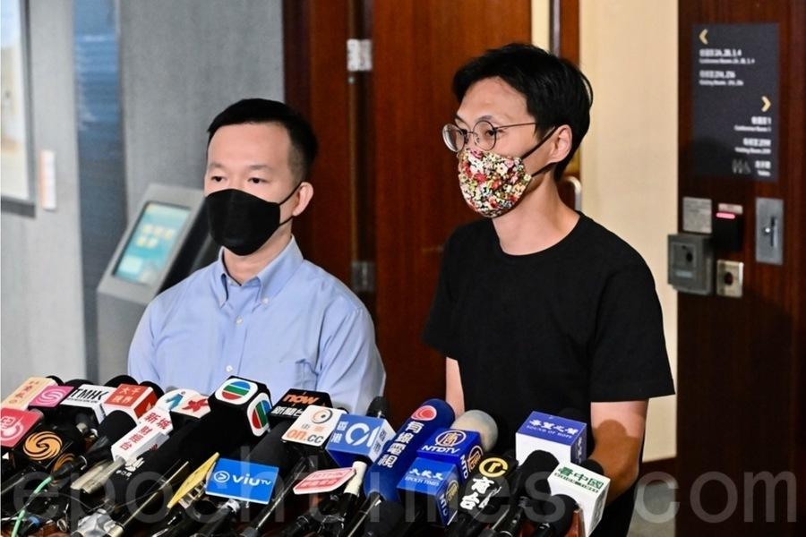港警今早拘7泛民 指涉5月8日立法會內會混亂事件