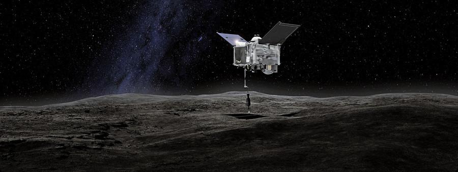 NASA採到小行星本努60克樣本