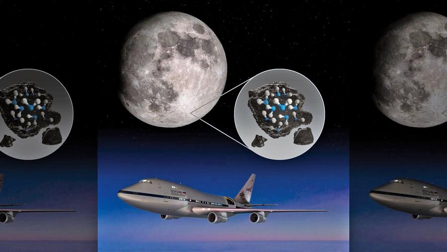 NASA月球陽面發現水 或有助於深空探索