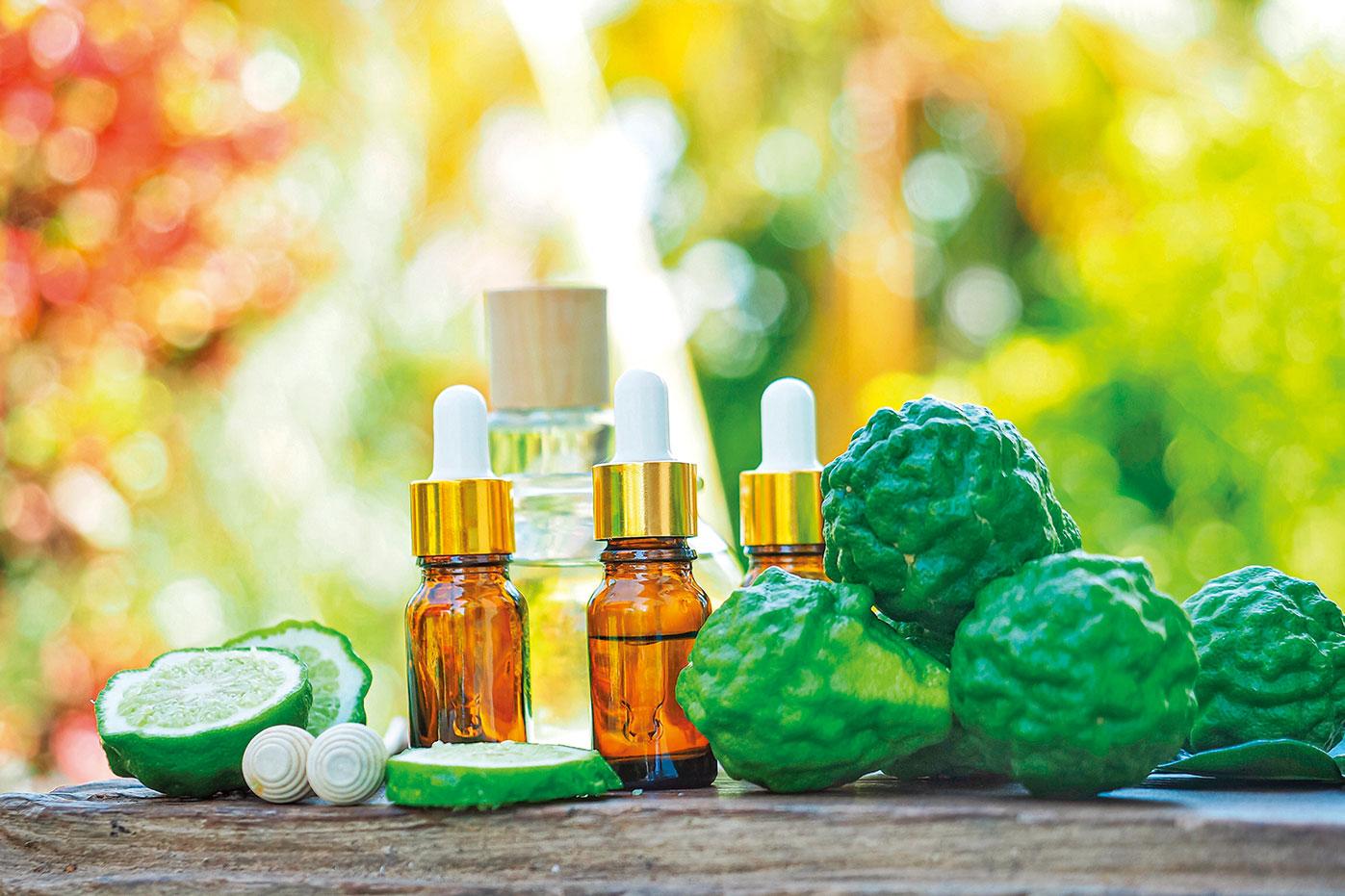 佛手柑精油能安定和提振身心,舒緩疲勞。(圖|Shutterstock)