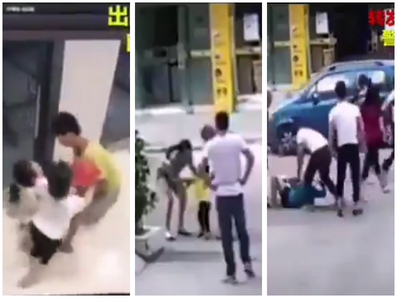大陸人販子光天化日之下明搶孩子視頻集震驚網絡