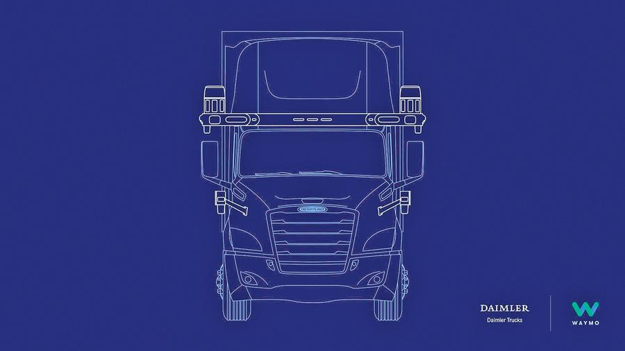 Waymo聯手丹拿合作開發自動駕駛卡車