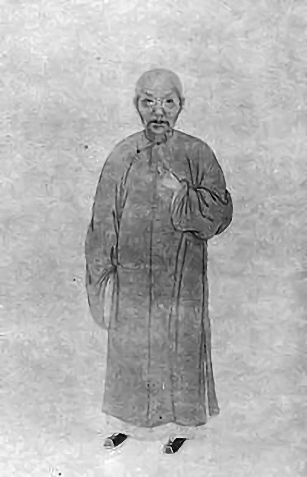 戴敦元畫像。(公有領域)